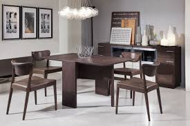 modrest union modern coffee oak folding dining table