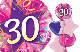 30th birthday balloons delivered happy 30th birthday balloons age balloon delivery balloons