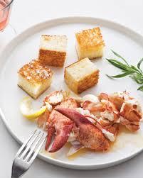 lobster roll recipe inside out lobster roll recipe video martha stewart