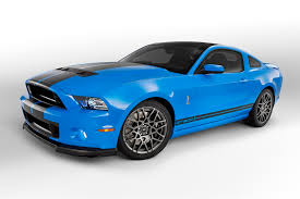 2013 mustang gt blue grabber blue 2013 ford mustang shelby gt 500 coupe