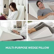 bed wedge pillow amazing wedge pillow bed throughout foam for modern awesome cool