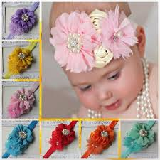 flowers for headbands aliexpress buy new children fabric flowers for headbands