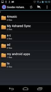 4shared pro apk goodev 4shared pro no ad android apps on play