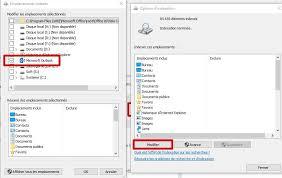 afficher outlook sur le bureau problème d indexation outlook suite à des mises à jour windows