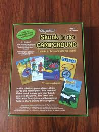 amazon com jr rangerland skunk in the campground game one color