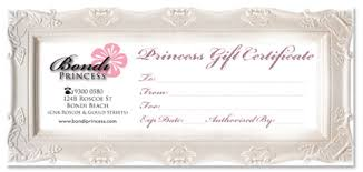 salon gift card miss blossom design logo branding and graphic nd web design