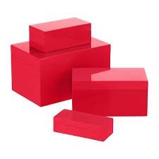 tins gift containers metal tins lacquer boxes the container red lacquered storage boxes
