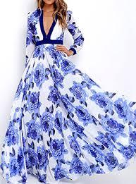 long sleeve maxi dresses cheap price