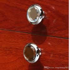 Red Glass Cabinet Knobs 2017 Modern Simple Glass Drawer Cabinet Knobs Pulls Brown Clear