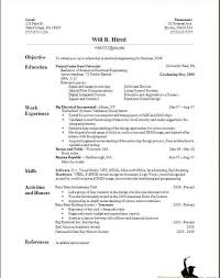 Best Resume Format For Aeronautical Engineers by Proper Resume Example