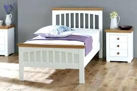 White Wood Single Bed Frame Single Wooden Bed Frames Serene Single White Wooden Bed Frame
