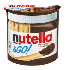 ferrero nutella u0026 go hazelnut spread breadsticks at titan foods