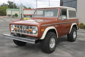 bronco car used 1972 ford bronco 4x4 manual w winch venice fl for sale in