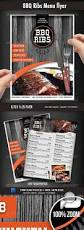 bbq restaurant menu flyer menu country style and restaurants