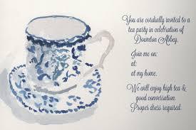 invitation high tea free printable invitation design