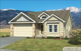 the carson new homes in colorado springs challenger homes