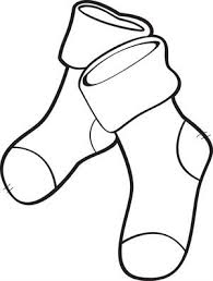 free printable christmas stockings coloring kids 4
