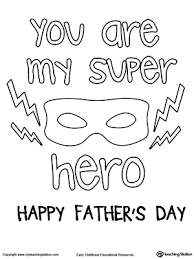 father u0027s day card superhero mask