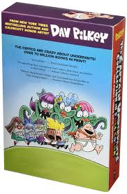 books about the color blue captain underpants color collection dav pilkey 9780545870115