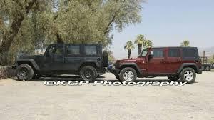 jeep truck jeep jt pickup test mule spy photos