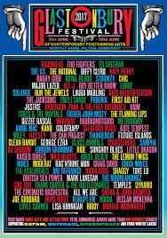 Fiesta Of Five Flags Glastonbury Festival 2017 Killer Concert Posters Pinterest