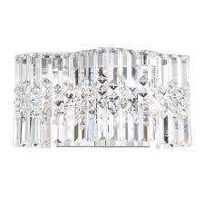 Swarovski Wall Sconces Modern Crystal Wall Sconce Bellacor