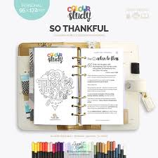 thanksgiving devotionals so thankful colour study devotional byjacquiesmith