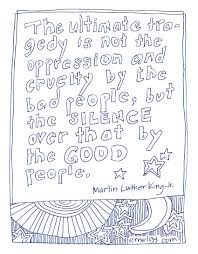 martin luther king jr day worksheets and coloring pages