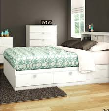 White King Platform Bed White Storage Platform Bed White King Size Bed Frame With Storage