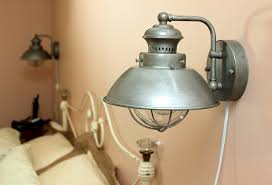 Industrial Wall Sconce Lighting Astounding Industrial Wall Sconce Light U2013 Round Industrial Wall