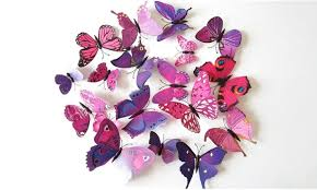 70 on 3d butterfly magnet set 12 pc groupon goods
