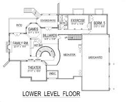Patio House Plans European Style House Plan 5 Beds 5 50 Baths 7092 Sq Ft Plan 458 14