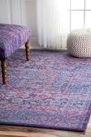 Purple Area Rugs Daveney Purple Area Rug Reviews Allmodern