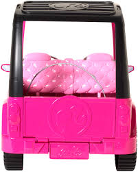pink jeep 2 door barbie sisters u0027 cruiser walmart com