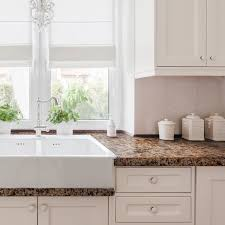 white kitchen cabinets brown countertops giani chocolate brown countertop paint kit