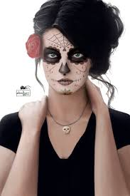 Day Of The Dead Halloween Makeup Ideas Santa Muerte By Zhidkov Deviantart Com On Deviantart Day Of The