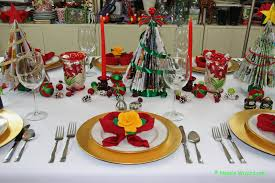 Easy Table Decoration For Christmas by Easy Festive Christmas Table Settings