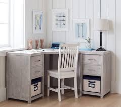 Corner Desks Everett Modular Corner Desk Pottery Barn
