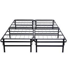 Bed Frame Metal Queen by Queen Size Foldable Platform Metal Bed Frame Beds U0026 Bed Frames
