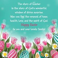 easter card sayings and messages