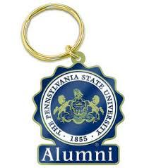 alumni chain penn state seal alumni key chain souvenirs keychains automobile
