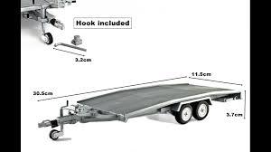 rimorchio porta auto rimorchio trasporto auto modello ellebi scala 1 18 modellino in
