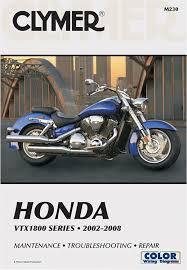 amazon com clymer repair service manual honda vtx1800 02 08