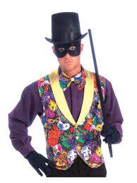 mardi gras tuxedo mardi gras multi color vest bow tie costume costumes
