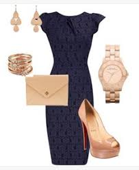 navy dress for wedding guest