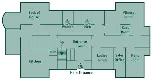 ground floor plan floor plans mit endicott house