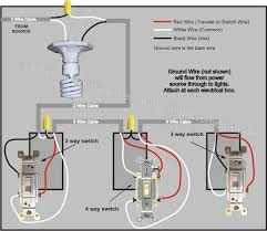 4 way switch wiring diagram diagram electrical wiring and