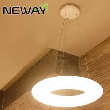 360 degree modern circular hanging lights pendant lighting modern