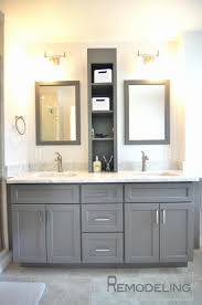 bathroom vanity with linen tower 31 inspirational vanity with linen cabinet home idea
