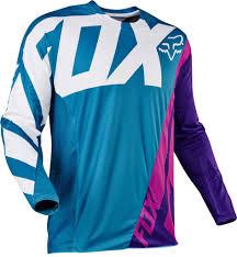 fox motocross store 2017 fox creo 360 motocross jersey teal 1stmx co uk